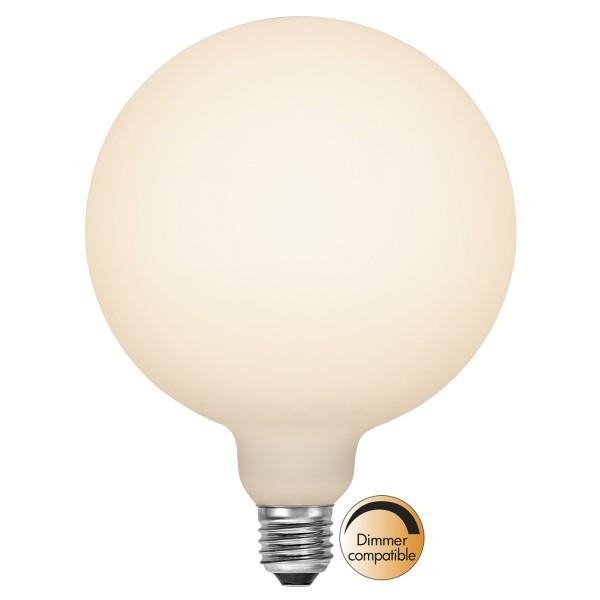 LED DEKO Leuchtmittel - OPAL - soft-touch - E27 - D: 150mm - 6W - 2700K - 610lm - dimmbar.