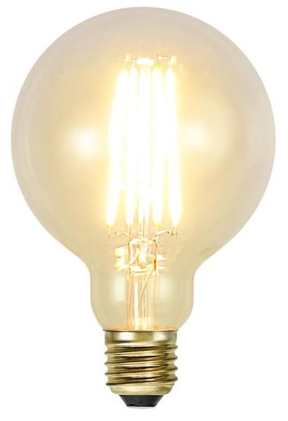 B-Ware LED GLOBE FILA GLOW G95 - E27 - 3,6W - warmweiss 2100K - 320lm - dimmbar