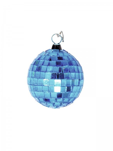 Spiegelkugel 5cm blau- Discokugel Echtglas zur Dekoration - mirrorball blue