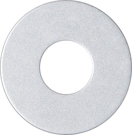 Kerzenring für Stabkerzen - silber - D: 5cm - H: 0,1cm - Tropfschutz