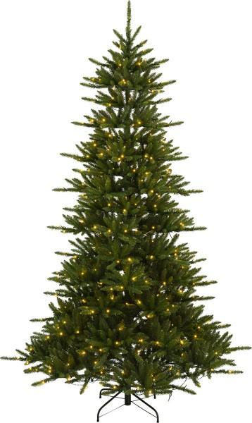 """LED-Weihnachtsbaum """"Minnesota"""" - 450 warmweiße LEDs - H: 250cm - grün - mit Metalfuss - outdoor"""