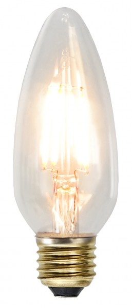 LED Kerzenlampe SOFT GLOW C45 - 3,5W - E27 - ultra-WW 2200K - 230lm - dimmbar