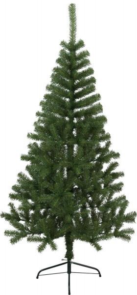 """Weihnachtsbaum """"Kanada"""" - H: 180cm, D: 98cm - Farbe: grün - mit Metallfuss - outdoor"""