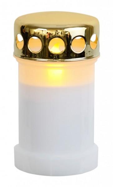 LED-Novenkerze | Memorial | flackernde LED | ↑14cm | 12er Set