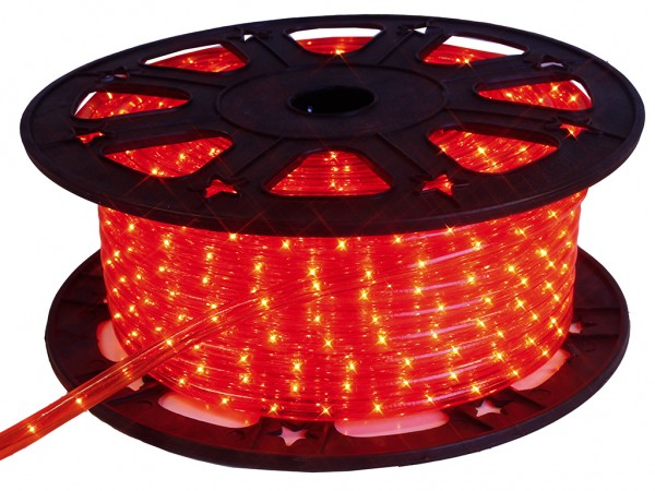 LED-Lichtschlauch | Outdoor | 1620 LED | 45,00m | Rot