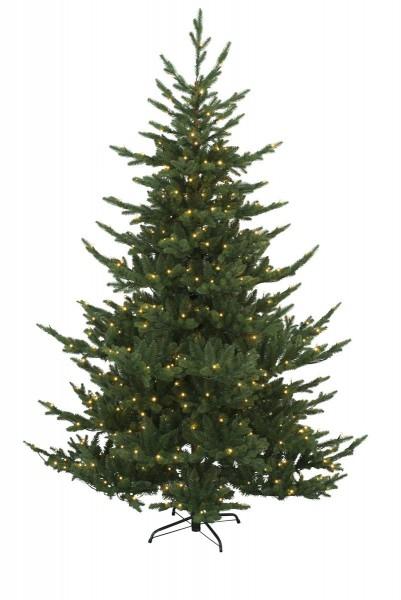 """LED-Weihnachtsbaum""""Brekstad""""- H: 210cm - 460 warmweiße LEDs - Timer - outdoor"""