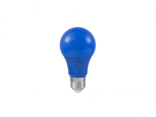 LED-Leuchtmittel - Omnilux A60 - E27 - 3W - Blau