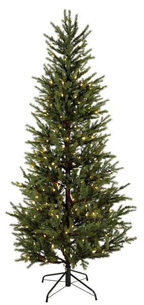 "LED-Weihnachtsbaum ""Malung"" - 240 warmweiße LEDs - H: 200cm, D: 96cm - PE - Metallfuss - outdoor"