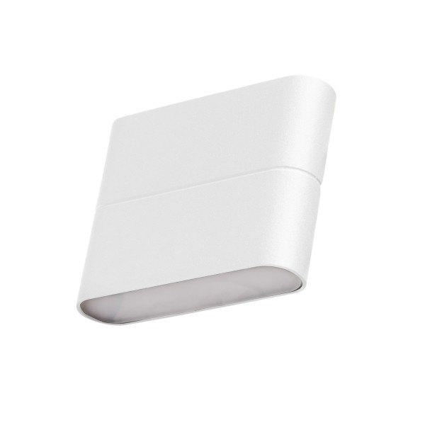 Wandleuchte SIMBO weiß - 30 EDISON LED - 3000K - 400lm - Up- & Downlight - bis 50.000h