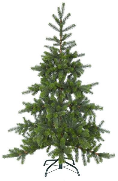 """Weihnachtsbaum """"Torshamn"""" - H: 180cm, D: 115cm - grün - Full-PE - Metallfuß - outdoor"""