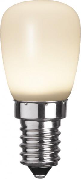 LED Leuchtmittel DEKOLED ST26 weiss- E14 - 0,8W - warmweiss 2600K - 25lm
