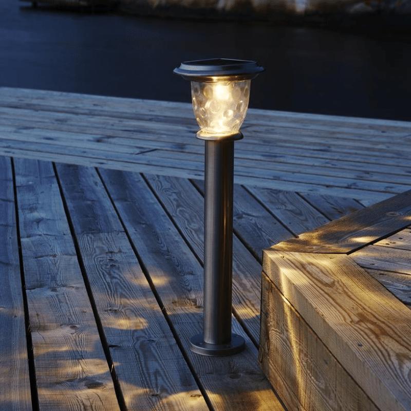 LED Solar Pilzlaterne