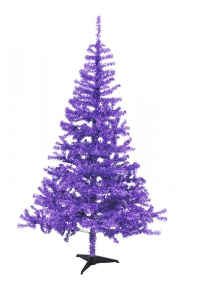 Tannenbaum - Trendfarbe lila - 240cm - inkl. Ständer