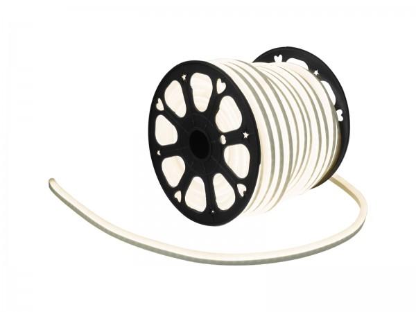 LED Lichtschlauch NEON FLEX 230V Slim - WARMWEISS - 50 Meter Rolle