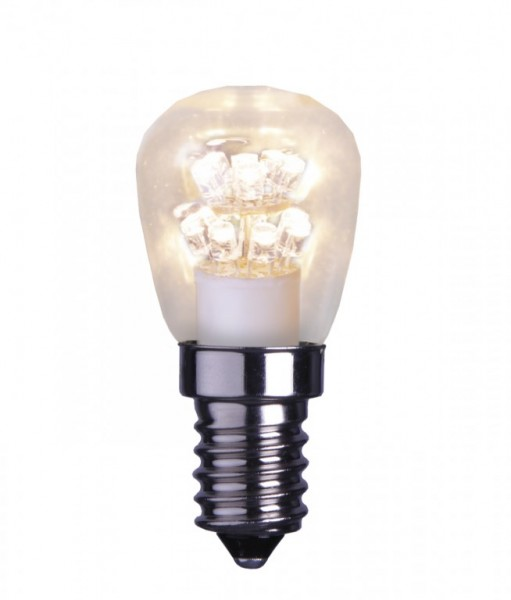 Leuchtmittel | LED | Filament | Deco | →2,7cm x ↑5,7cm | 0,7W | E14 | 2100K | 60 Lumen