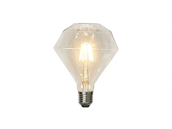 Leuchtmittel LED | Filament | Diamant | →11,5cm x ↑13,2cm | 3,2W | E27 | 2700K | 320 Lumen | Dimmbar