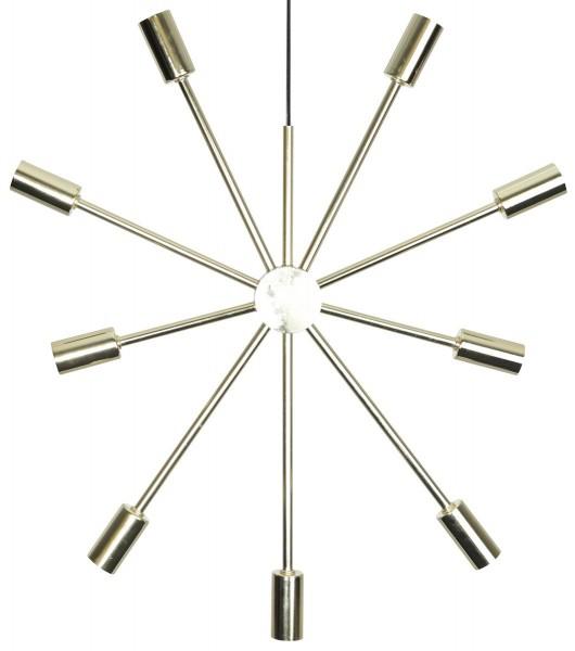 Kerzen-Stern PIX - 9 Sockel - bronze - Ohne Leuchtmittel