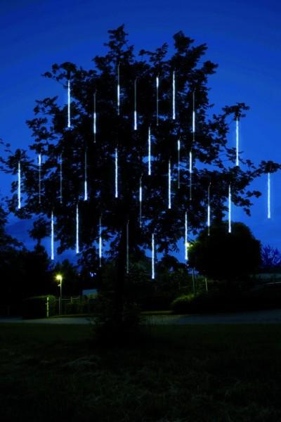 LED-Schneefall-Lichterkette - Snowmotion Line Outdoor - Erweiterung - 7,50m - 136x Kaltweiß