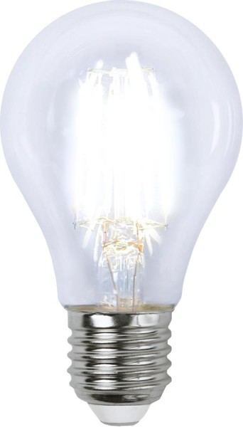 LED Tropfenlampe FILA A60 - E27 - 6,5W - NW 4000K - 890lm - klar - dimmbar