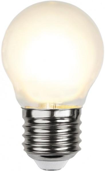 LED Tropfenlampe FILA G45 - E27 - 4W - WW 2700K - 450lm - gefrostet