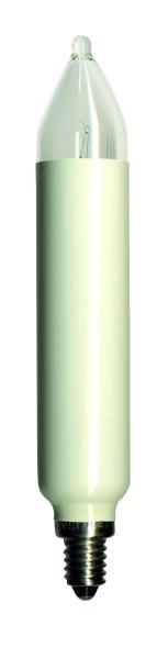 Ersatzkerzen 2er Pack - E14 - 34V - 3W - H: 12cm - D: 2cm