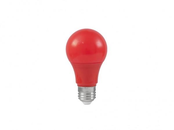 LED-Leuchtmittel - Omnilux A60 - E27 - 3W - Rot