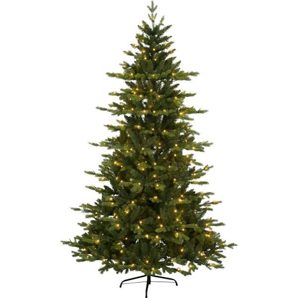 "LED-Weihnachtsbaum""Larvik"" - 270 warmweiße LEDs - H: 180cm - PE/PVC Mix - outdoor"