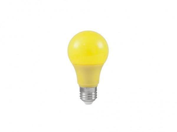 LED-Leuchtmittel - Omnilux A60 - E27 - 3W - Gelb