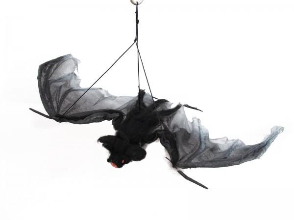 Fledermaus, groß, Spannweite 120cm - zur Deckenbefestigung