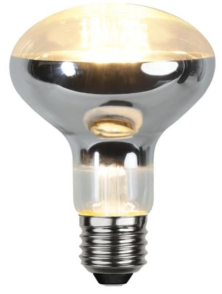 LED Leuchtmittel Reflektor FILA R80 - E27 - 7W - warmweiss 2700K - 620lm
