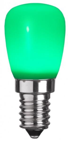 LED Leuchtmittel DEKOLED ST26 grün - E14 - 0,8W - 13lm