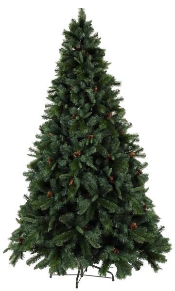 """Weihnachtsbaum """"Toronto"""" - mit Tannenzapfen - H: 225cm, D: 150cm - outdoor"""