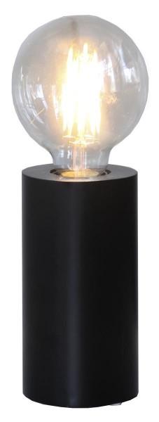 Lampenhalterung | TUB | E27 | stehend | mittel | ↑15cm | Schwarz