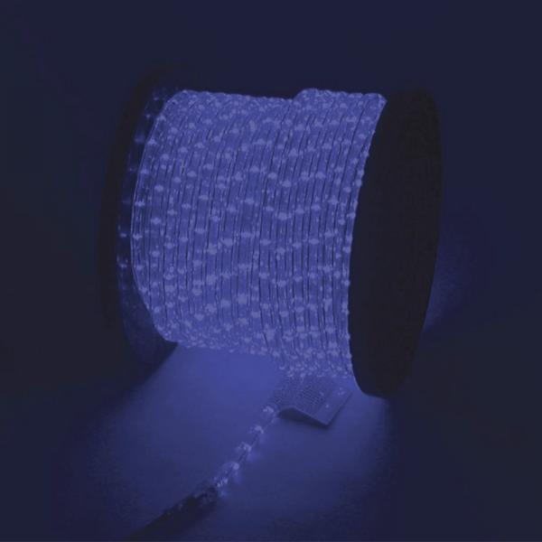 RUBBERLIGHT Lichtschlauch - Outdoor - RL1 - 1584 Lampen - 44m - anschlussfertig - blau