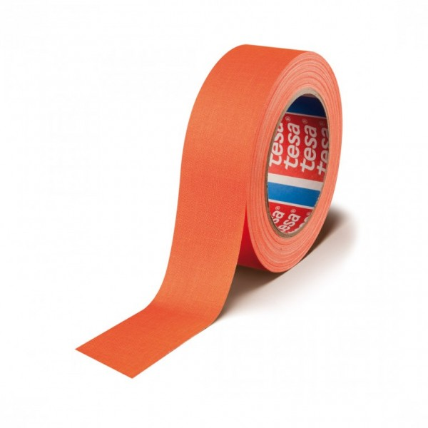 Stagetape / Gaffatape - 19mm x 25,00m - UV-aktiv - Orange (Highlight-Tape)