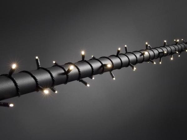 LED Microlichterkette - LED Expert - 3,90m - 40x Warmweiß - Schwarzes Softkabel - Timer -Outdoor