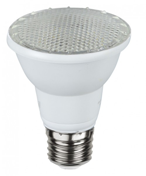 LED SPOT PAR20 - 230V - E27 - 100° - 5W - warmweiss 3000K - 440lm