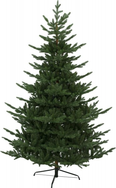 """Weihnachtsbaum""""Brekstad""""- H: 210cm - grün - mit Metallfuss - outdoor"""