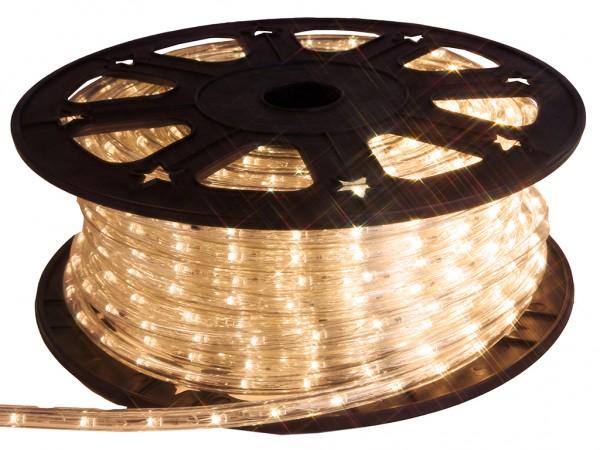 LED-Lichtschlauch | Outdoor | 1620 LED | 45,00m | Warmweiß