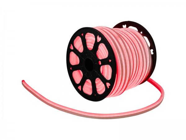 LED Lichtschlauch NEON FLEX 230V Slim - ROT - 50 Meter Rolle