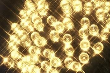 LED-Lichterkette | Serie LED | Outdoor | Schwarzes Kabel | warmweiße LED | 16,00m | 160x LEDs