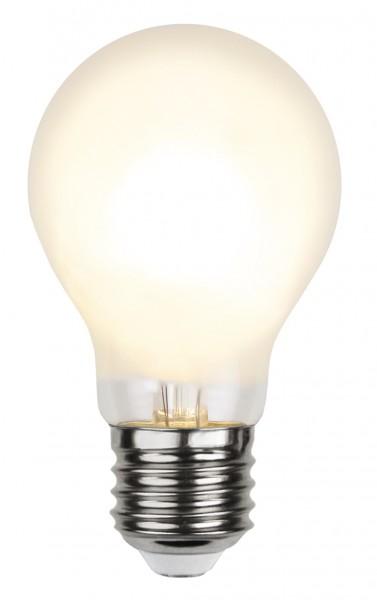 LED Tropfenlampe FILA A60 - E27 - 4,8W - WW 2700K - 540lm - gefrostet