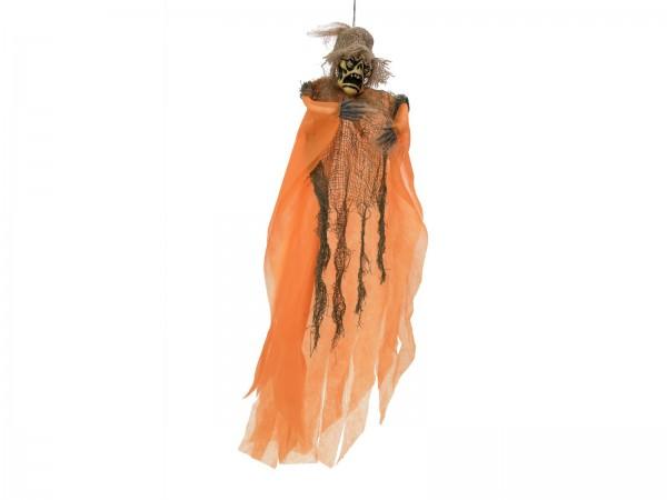 Das Schwiegermonster - Halloween Figur 65cm - formbar - zum Hängen