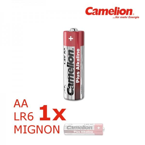 Batterie Mignon AA LR6 1,5V PLUS Alkaline - Leistung auf Dauer - CAMELION