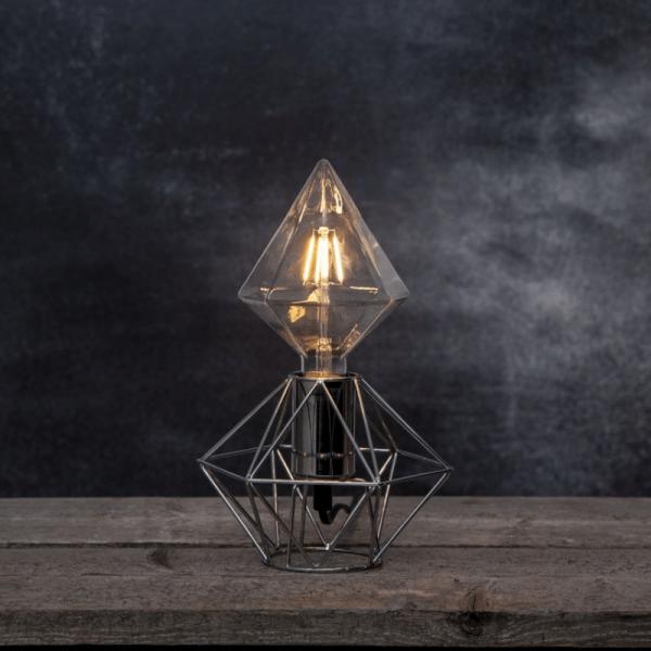 Lampenhalterung | EDGE | E27 | groß | Fassung Messing