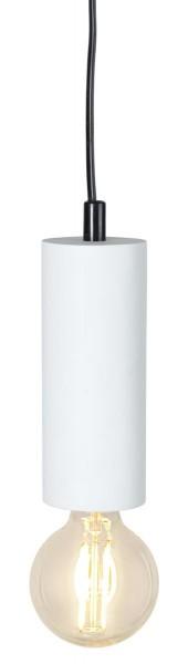 Lampenhalterung | TUB | E27 | hängend | Weiß | ↑15cm