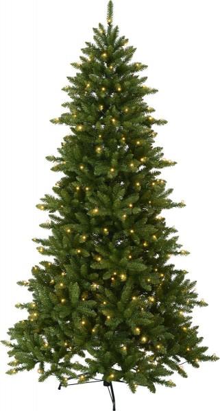 "LED-Weihnachtsbaum ""Minnesota"" - 280 warmweiße LEDs - H: 210cm - grün - outdoor"
