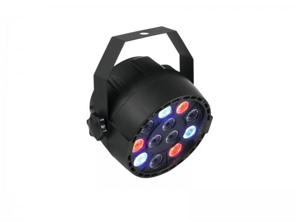 PARty Spot 12x1W RGBW - Partyscheinwerfer mit 4 Farben - Automatik-, Musik- oder DMX-Steuerung