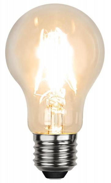 LED Tropfenlampe FILA A60 - E27 - 4W - DTW 3000-2000 - 320lm - klar - dimmbar