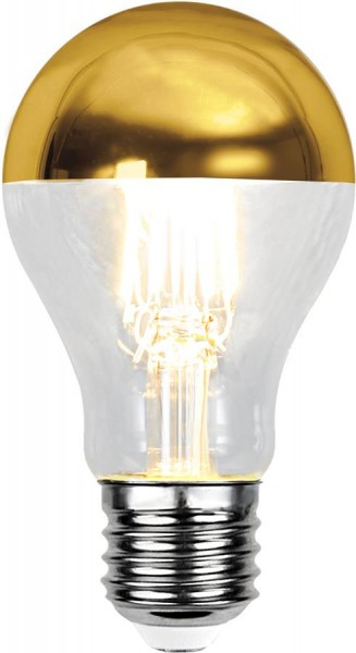 LED Leuchtmittel FILA TOP COATED gold A60 - E27 - 4W - WW - 350lm - dimmbar